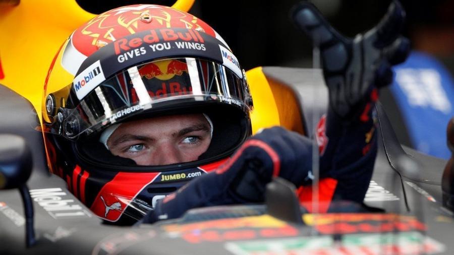 Verstappen marcou o tempo de 1min44s410 em um treino disputado sob altas temperaturas - David Mdzinarishvili/Reuters