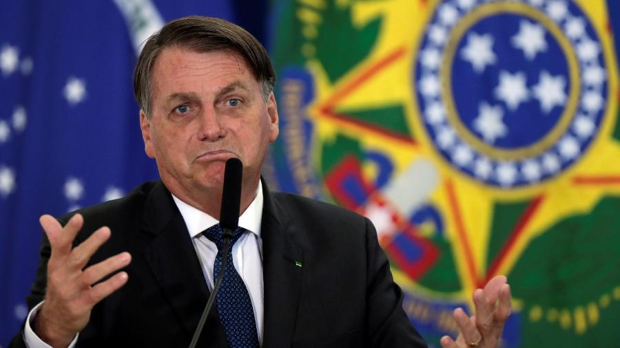 Jair Bolsonaro, presidente do Brasil - Ueslei Marcelino/Reuters