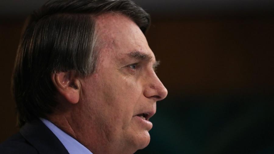 O presidente Jair Bolsonaro (sem partido); governo federal gastou mais de R$ 1,8 bilhão com alimentação em 2020 - MARCOS CORRêA/PR