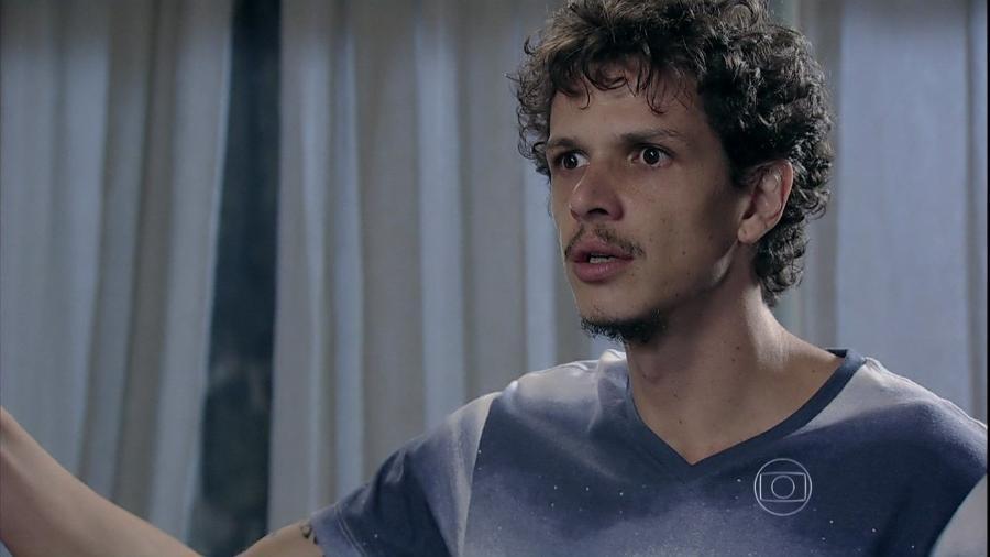 Elivaldo (Rafael Losso), em Império (reprodução/TV Globo) - Reprodução / Internet