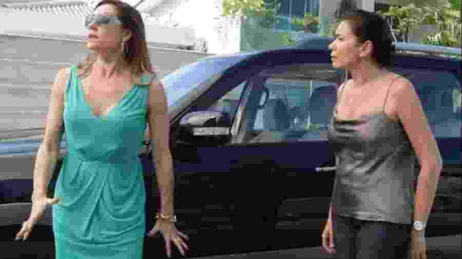 Tereza Cristina (Christiane Torloni) e Griselda (Lilia Cabral) de Fina Estampa (Divulgação - TV Globo) - Reprodução / Internet