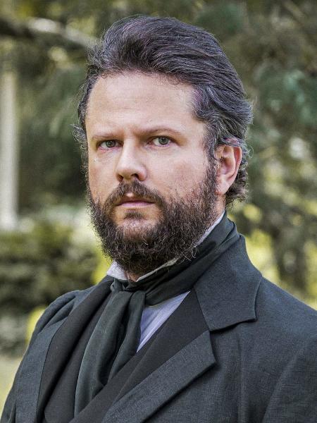 Dom Pedro II (Selton Mello) em Nos Tempos do Imperador (Divulgação/Globo) - Divulgação/Globo