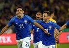 """De volta à seleção, Diego Souza vê """"longo caminho"""" até a Copa da Rússia - Foto: Saeed Khan/AFP"""