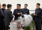 Foto: divulgação Coreia do Norte/AFP