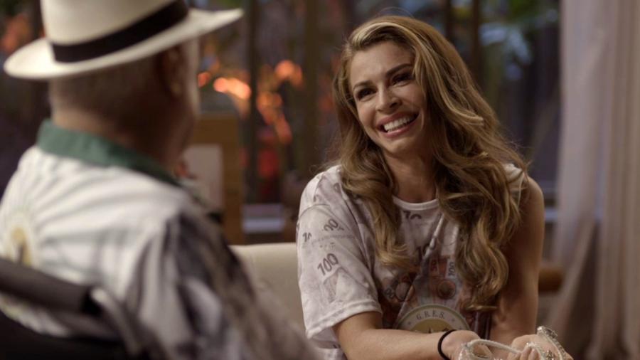 Alberto (Antonio Fagundes) e Paloma (Grazi Massafera) em Bom Sucesso  - Reprodução/TV Globo