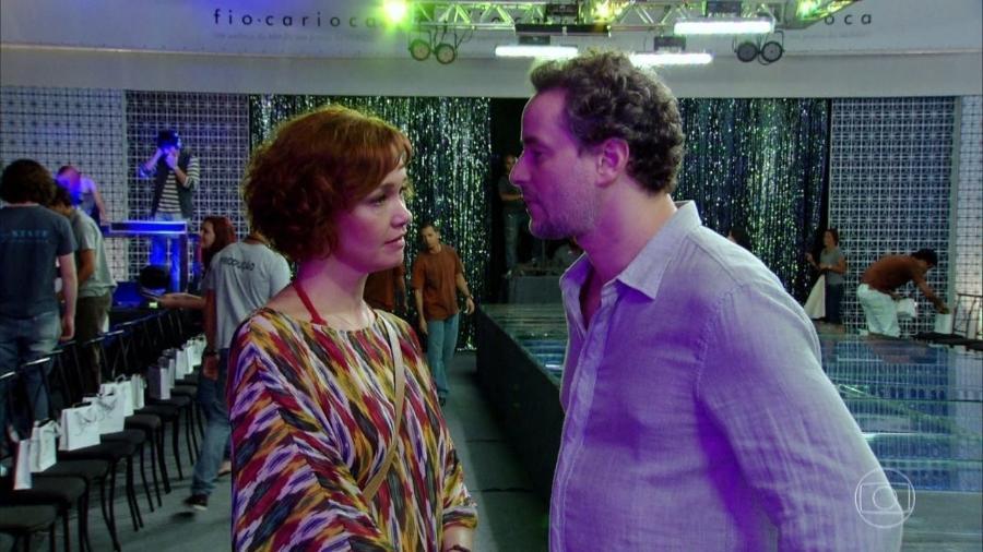 Esther (Julia Lemmertz) e Paulo (Dan Stulbach) em Fina Estampa (divulgação) - Reprodução / Internet
