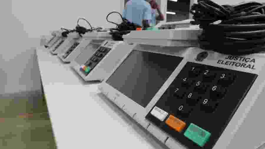 Estado do Rio troca 194 urnas eletrônicas, informa o TRE  -                                 WELINGTON LIMA/JC IMAGEM