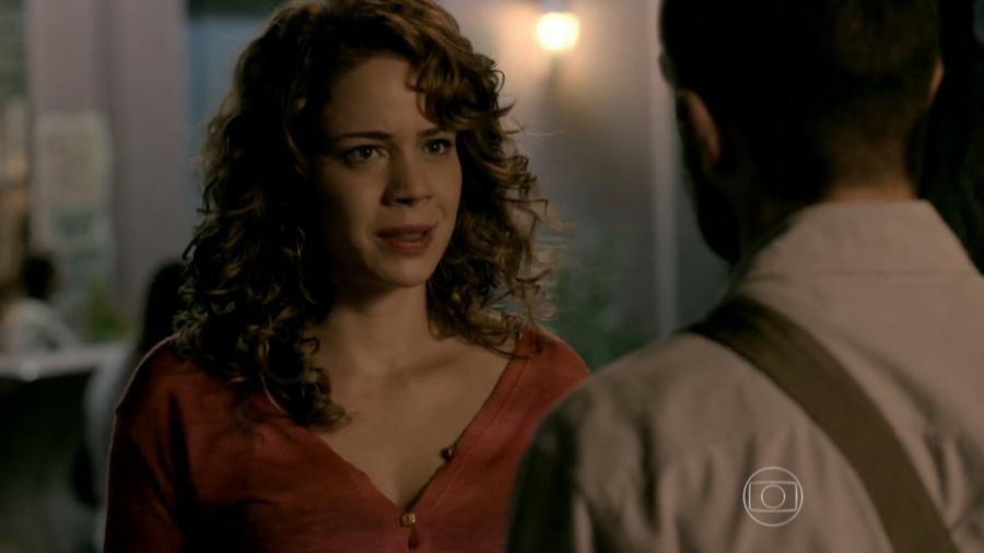 Cristina (Leandra Leal) e Vicente (Rafael Cardoso) em Império (Reprodução/Globo) - Reprodução / Internet