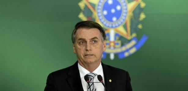 Presidente eleito, Jair Bolsonaro recebeu convite do Palmeiras para ir a jogo - Foto: EVARISTO SA / AFP