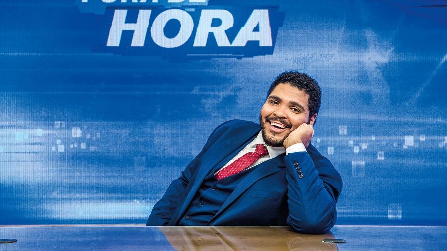 Paulo Vieira no Fora de Hora (Divulgação/TV Globo) - Reprodução / Internet