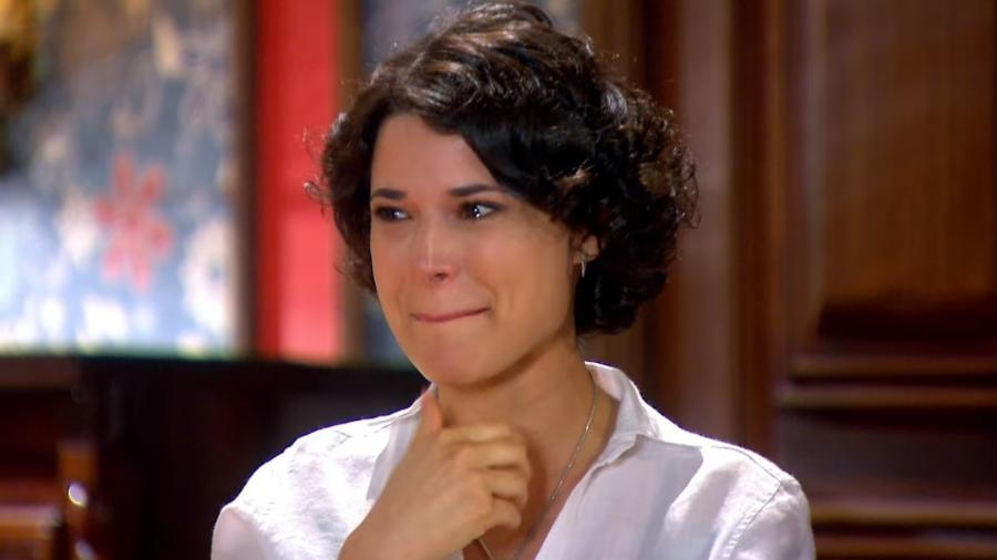 Carol (Manuela do Monte) em cena de Chiquititas (Reprodução / SBT) - Reprodução / Internet