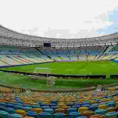 Maracanã vazio. Estádio não deve receber público em 2020 - Reprodução / Internet