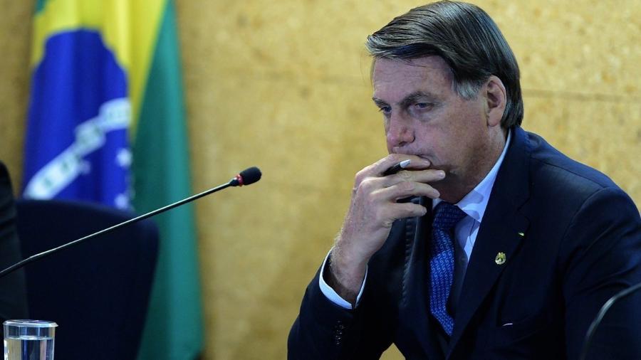 Fora do microfone, Bolsonaro promete vetar aumento de imposto para Turismo -                                 EDU ANDRADE/ ESTADãO CONTEúDO