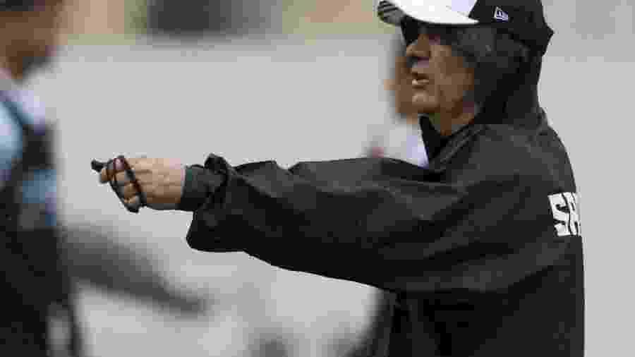 Técnico Levir Culpi deve realizar quatro mudanças na lista de inscritos para a Libertadores - Ivan Storti/Santos