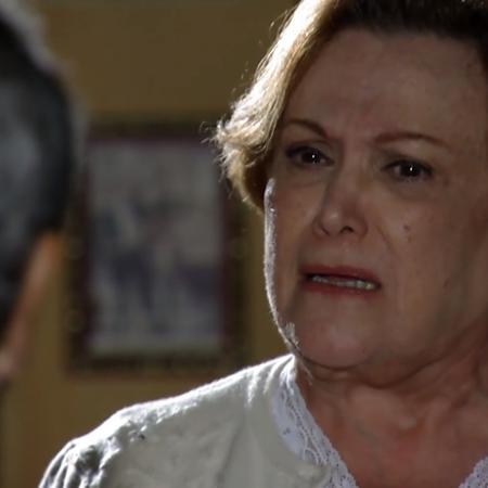 Laudelino (Stenio Garcia) e Iná (Nicette Bruno) em A Vida da Gente (reprodução/TV Globo) - Reprodução / Internet