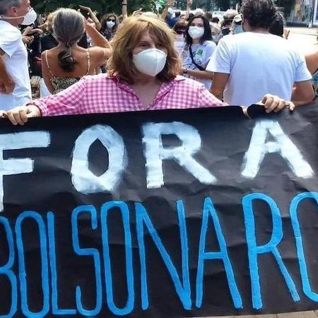 Famosos vão as ruas para se manifestar contra o presidente Jair Bolsonaro  - Reprodução/Twitter