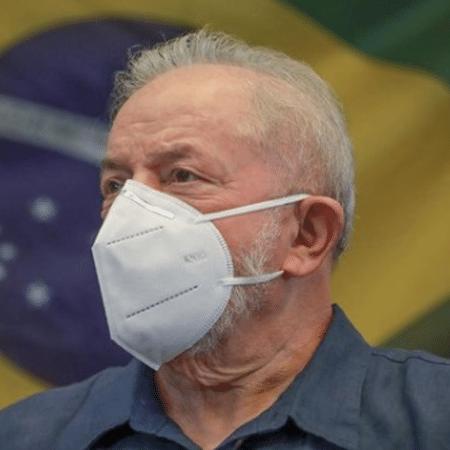 """""""Lula sem máscara"""" foi a hashtag que aliados de Ciro Gomes disseminaram nas redes - Reprodução/Instagram Luiz Ina?cio Lula da Silva"""