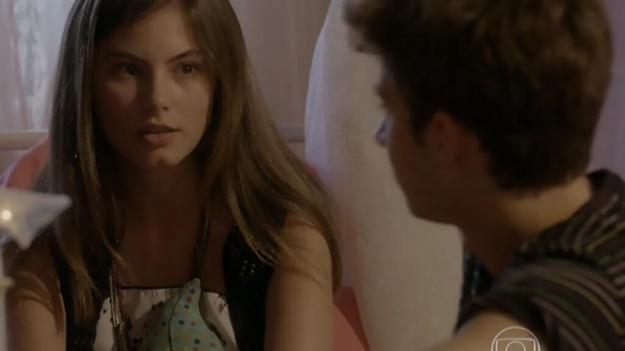 Bianca (Bruna Hamú) e João (Guilherme Hamacek) em Malhação: Sonhos (Reprodução/Globo) - Reprodução / Internet