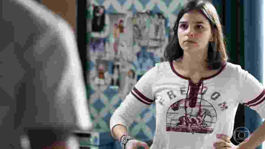 Keyla (Gabriela Medvedovski) em Malhação (Reprodução/TV Globo). - Reprodução / Internet
