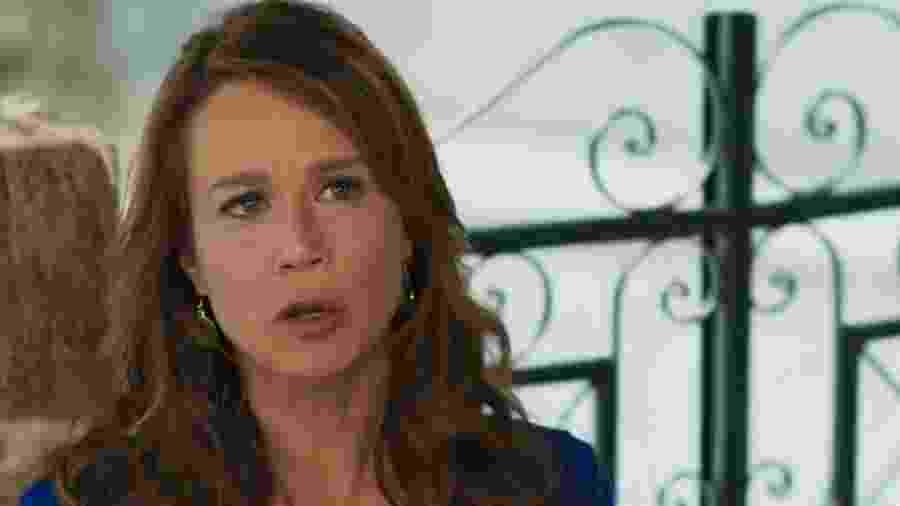 Tancinha (Mariana Ximenes) em Haja Coração (Reprodução/TV Globo). - Reprodução / Internet
