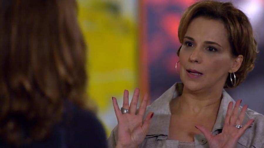 Eva (Ana Beatriz Nogueira) em A Vida da Gente (Reprodução/TV Globo). - Reprodução / Internet