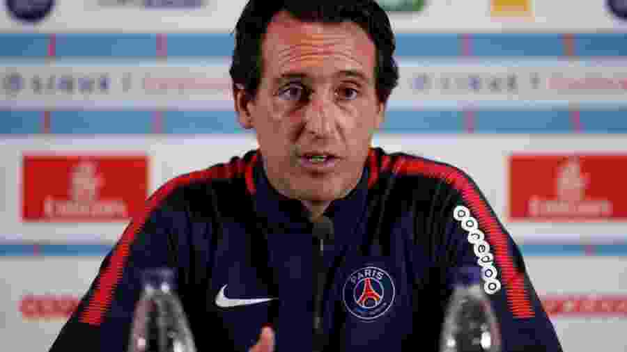 Unai Emery, treinador do PSG - Benoit Tessier/Reuters