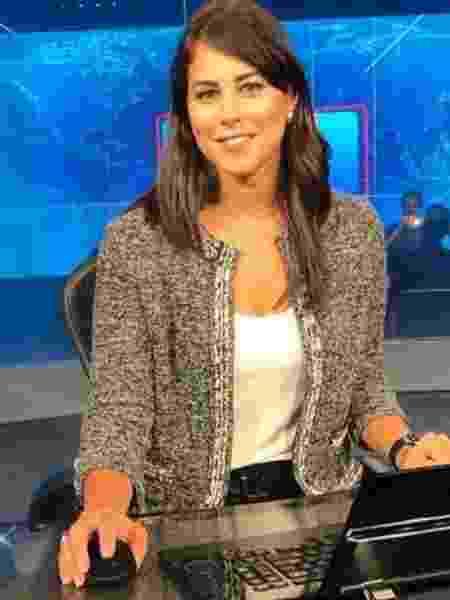 A apresentadora Jéssica Senra - Jéssica Senra (FOTO: Divulgação/Globo)