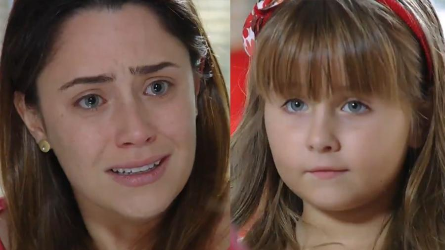 Ana (Fernanda Vasconcellos) reencontra Júlia (Jesuela Moro) em A Vida da Gente (Reprodução/Globo) - Reprodução / Internet