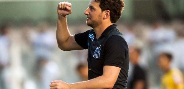 Elano já fez parte de uma sequência histórica do Santos em busca de título brasileiro