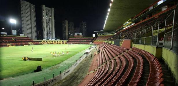 A Ilha do Retiro será o palco de mais um Sport x Flamengo em Recife - Alexandre Gondim/JC Imagem
