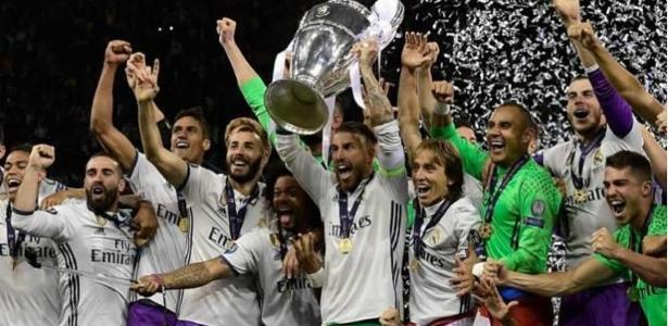 O poderoso Real Madrid é o atual tricampeão da Champions League