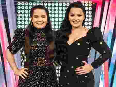 Maiara e Maraisa estreiam no comando do programa SóTocaTop (Foto: Globo/Fábio Rocha)