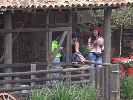 Drika Marinho em A Fazenda 11 (Foto: Reprodução/ Record TV)
