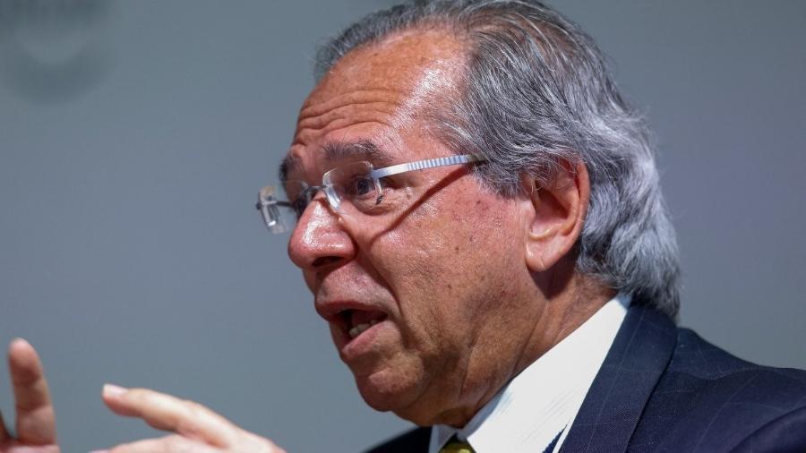 Paulo Guedes defende a criação de um imposto sobre transações digitais, nos moldes da extinta CPMF -                                 ALAN SANTOS/PR