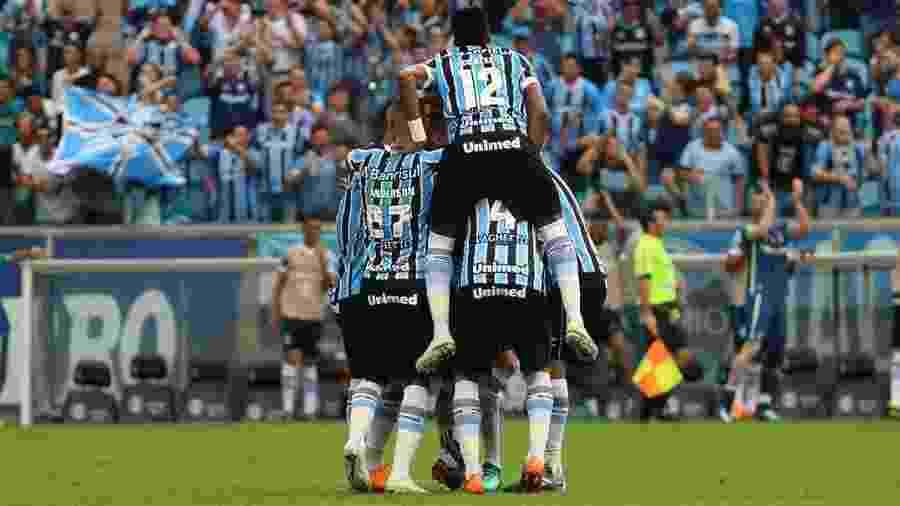 Grêmio terá quatro jogos em sequência na Arena pela Libertadores, Brasileiro e Copa do Brasil - Richard Ducker/Framephoto/Estadão Conteúdo