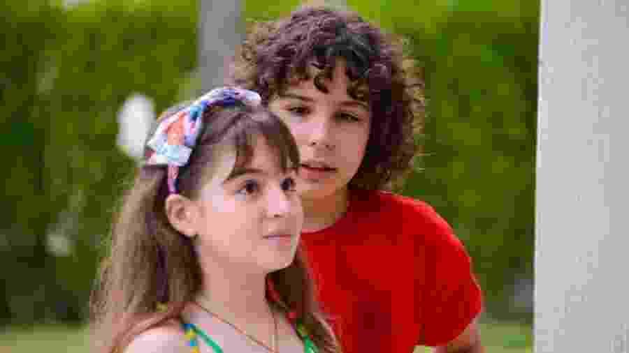 João (Igor Jansen) e Poliana (Sophia Valverde) em As Aventuras de Poliana (Foto: João Raposo/ SBT) - João (Igor Jansen) e Poliana (Sophia Valverde) em As Aventuras de Poliana (Foto: João Raposo/ SBT)