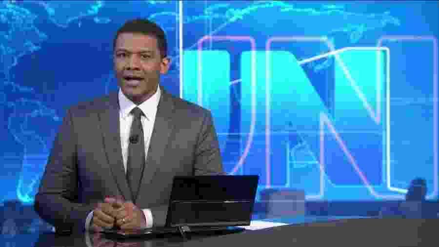 Após apresentar o JN em agosto, Márcio Bonfim será o substituto oficial de Tadeu Schmidt no Fantástico - Reprodução/Globo