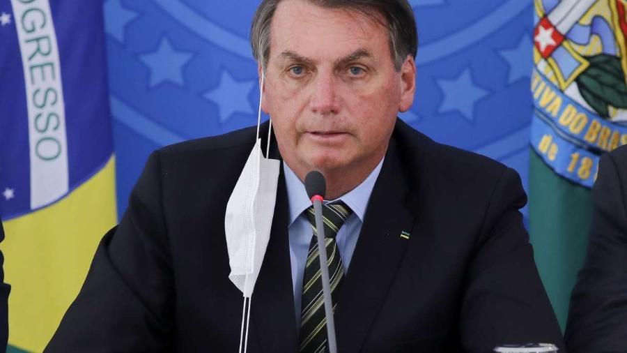 Presidente Jair Bolsonaro aprova ajuda a estados - Sergio Lima/AFP