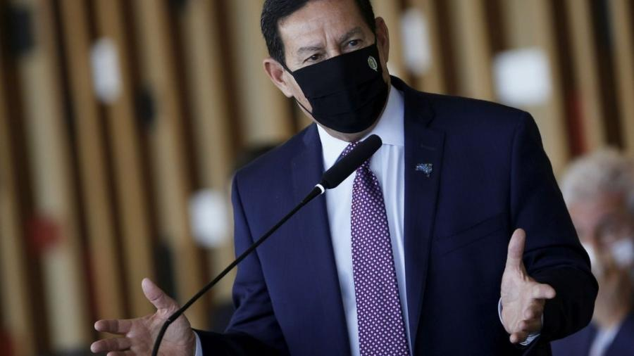 Hamilton Mourão, vice-presidente do Brasil                              -                                 REUTERS/ADRIANO MACHADO/DIREITOS RESERVADOS