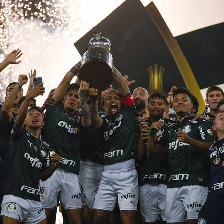 Palmeiras campeão da Libertadores 2020 - Getty Images