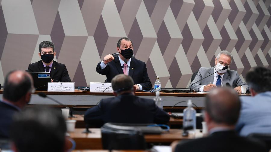 """TCs veem """"confusão"""" em pedido da CPI sobre uso de recursos federais na pandemia - Edilson Rodrigues/Agência Senado"""