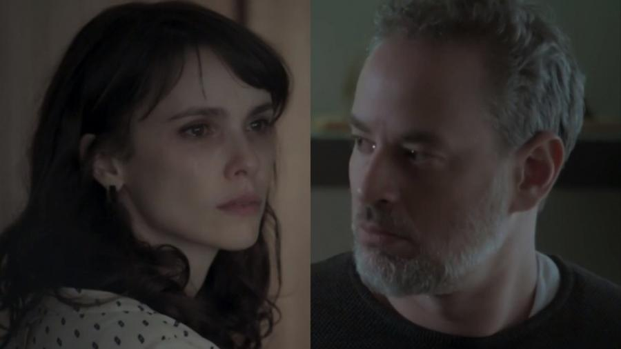 Irene (Débora Falabella) e Eugênio (Dan Stulbach) de A Força do Querer (Reprodução - TV Globo) - Reprodução / Internet