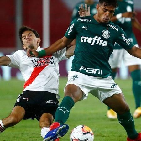 Gabriel Menino, volante do Palmeiras - GettyImages