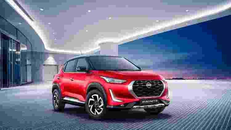 Nissan Magnite é SUV subcompacto produzido sobre a plataforma do Renault Kwid *  - Foto: Nissan   Divulgação - Foto: Nissan   Divulgação