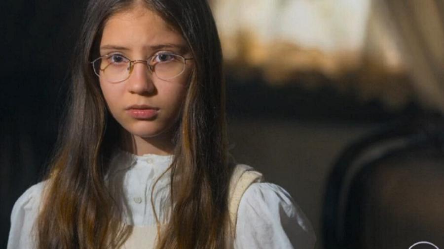 Dolores (Julia Freitas) em Nos Tempos do Imperador (Reprodução/Globo) - Reprodução / Internet