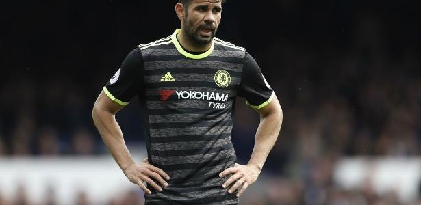 Diego Costa está sem clima no Chelsea