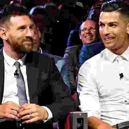 Cristiano Ronaldo e Messi seguem sendo protagonistas do futebol mundial - GettyImages