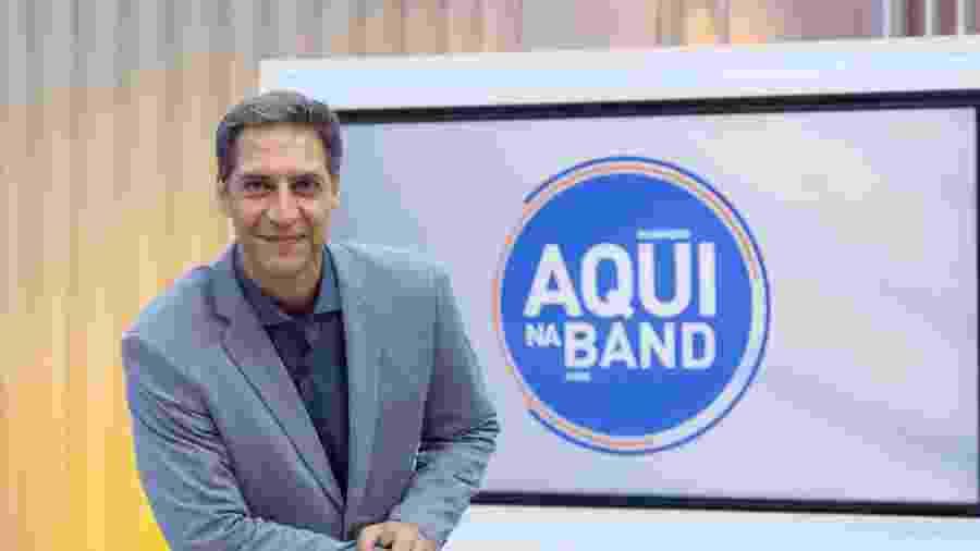 Luís Ernesto Lacombe tem interesse do SBT e da rádio Jovem Pan - KELLY FUZARO/BAND