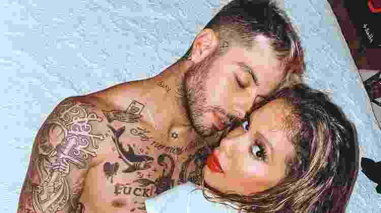 Anitta com o namorado, Gui Araújo - Gui Araújo e Anitta (Foto: Reprodução/Instagram) - Gui Araújo e Anitta (Foto: Reprodução/Instagram)