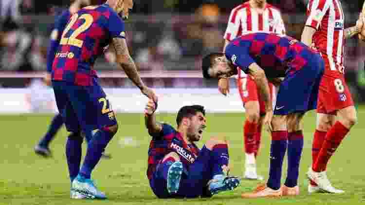 Luis Suárez - Getty Images - Getty Images